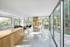 House on Lac Grenier by Paul Bernier Architecte - Estérel, Canada | Tododesign by Arq4design
