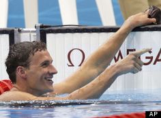 stunner ...Ryan Lochte Wins Gold In Men's 400m Individual Medley, Michael Phelps Finishes Fourth