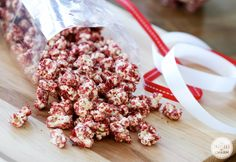 The other night I had this genius (and what I thought to be original) idea to make red velvet popcorn. I've seen other flavors of popcorn floating around the net, plus with Valentine's Day on the horizon, it sounded like a pretty epic idea. I should have known better. Someone (well, several someones) beat me …