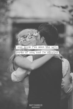 I want to find someone who truly feels this way....Or better yet, let them find me :)