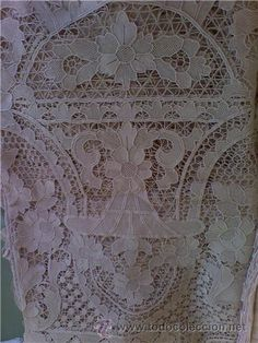 Venetian lace tablecloth