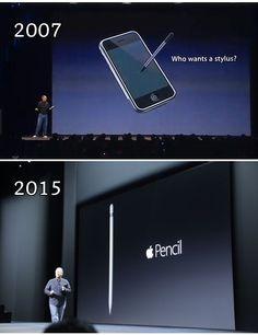 "Apple on the ""stylus"""