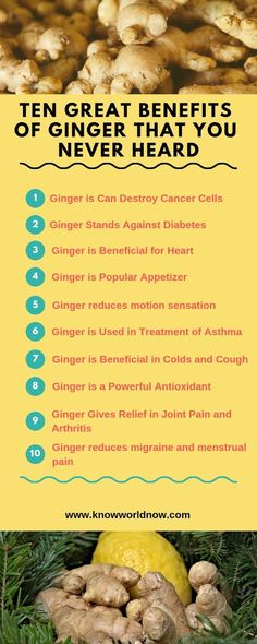 Here we are describing top ten Benefits of ginger for men and women. Benefuts of drinking ginger water and ginger tea that can surprise you. Try ginger in your daily tea and have a balanced health Benefits Of Eating Ginger, Ginger Water Benefits, Tea Benefits, Herbal Remedies, Health Remedies, Natural Remedies, Health And Wellness, Health Tips, Health Fitness