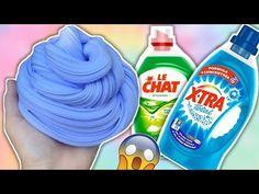 Comment faire du Slime ? Recette du Slime avec de la lessive - No borax Slime Recipe - Gloopy - YouTube