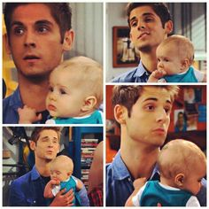 Jean-Luc Bilodeau on baby daddy