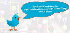 Social Bookmarking Sites List that provides quality backlinks, boosts site traffic