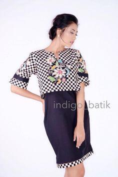 Indigo batik