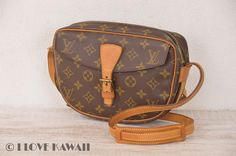 Louis Vuitton Monogram Jeune Fille PM Malletier Shoulder Bag M51227