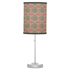#home #lamps #decor - #Colorful abstract ethnic floral mandala pattern de table lamp