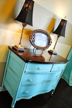 The Best DIY and Decor Place For You: Refinishing Grandmas Dresser