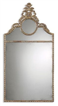 Image of Uttermost Chestnut Brown Peggy Mirror