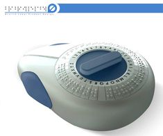 Braille Tape!! Would be so cool in my special education classroom someday! :D