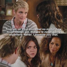 """#TheFosters 4x03 """"Trust"""" - Stef, Callie and Lena"""