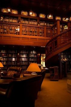 George Lucas' library at Skywalker Ranch