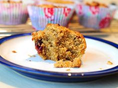 Incredible Oat Bran Muffins Plain Blueberry Or Banana Recipe - Breakfast.Genius Kitchen no flour! Oat Bran Recipes, Banana Recipes, Muffin Recipes, Breakfast Recipes, Bread Recipes, Spelt Recipes, Candida Recipes, Breakfast Bites, Fodmap Recipes