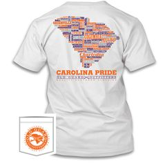 State Pride Screen Printes T-Shirts Comfort Colors Georgia Pride Penley Flag shirts Carolina Pride, South Carolina, Flag Shirt, T Shirt, University Of Georgia, Comfort Colors, Letterpress, Mens Tops, Athens