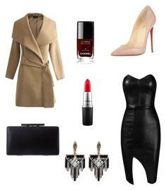 """Untitled #17"" by mathilde-dz ❤ liked on Polyvore featuring moda, Posh Girl, Christian Louboutin, Lulu Frost, Chanel, MAC Cosmetics, women's clothing, women's fashion, women y female"