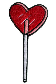 This super ultra plush Heart Lolli chenille patch is perfect as an accent on your blouse, backpack, or motorcycle jacket, itÕs a gentle reminder that although you're sugary sweet, you can dole out a l Warm Coat, Winter Accessories, Band Tees, Cupid, Mantra, Spring Summer Fashion, Book Worms, Sale Items, Holiday Gifts