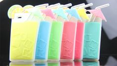 2014New,Pink Watermelon Drink Cup Style Silicone Soft Phone Cover Case For Iphone 5/5S Case,Mix Color $36.80