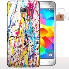 Housse Samsung Galaxy Grand Prime Splash - Coque Gel. #Etui #SamsungGrandPrime #Splash #Silicone #Coque