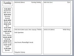 Small Group Lesson Plan Template  Differentiation Resources