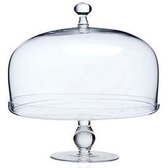 Glass Footed Cake Plate w/ Dome Cake Stands & Tiered Trays