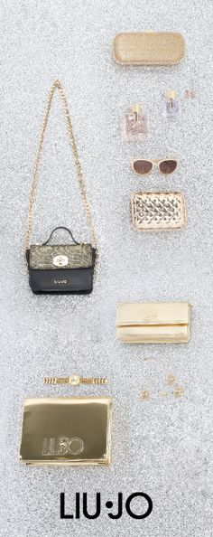 Gold accessories for a fairy tale touch! #LiuJo #FW15