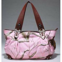 Realtree® Pink APC Camouflage Tote Handbag $49.99 http://www.amazon.com/gp/product/B008QBI70K?ie=UTF8=1789=B008QBI70K=xm2=luclan-20