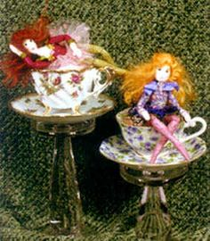 Tea Cup Fairy Doll Making Pattern by Barbara Willis