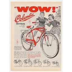 Bicycle ad from 1959