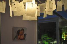 My Interiors ❤ #ingomaurer paper note #chandelier #beyonddecoration #design #elenaarsenoglou #fengshui #paper #notes #decoration #angel