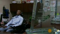 """O.J. Brigance: """"Quitting is never an option"""" - CBS News  #ALS #LouGehrigsDisease #BaltimoreRavens #Ravens #TEAMMikeLopez #TEAMCureALS #MeBecomesWe"""
