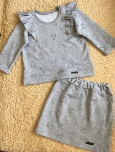 Baby Outfits, Little Girl Dresses, Kids Outfits, Handmade Baby Clothes, Handmade Skirts, Persnickety Clothing, Baby Dress Patterns, Baby Sewing, Doll Clothes