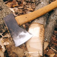 Cooper Hill Works - sharpened and rehung axe.