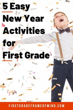 Here are 5 easy teacher-approved ideas ring in the new year the day of returning… – Bloğ Vocabulary Strategies, Vocabulary Activities, Teaching Activities, Craft Activities For Kids, Teaching Ideas, New Years Activities, First Grade Activities, 1st Grade Writing, 1st Grade Math