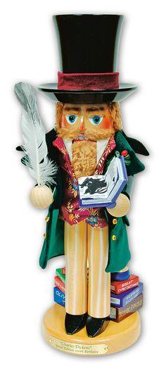Charles Dickens Steinbach Nutcracker. I love German art crafts.  I have a few of Steinbach nutcrackers myself.  Love.