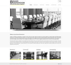 Nieuwe website gemaakt door www.boostingyourbrand.nl voor www.brandboardroom.com