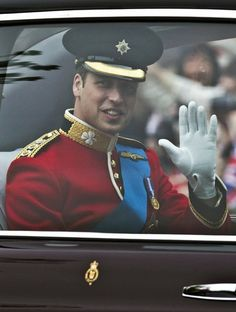The future king of England