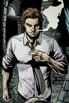 fables comic bigby wolf - AKA The Big Bad Wolf