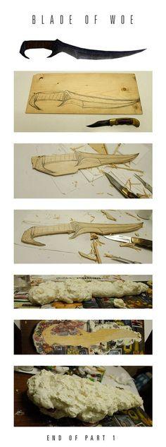 WIP Blade of Woe by Daniel-Abreu on deviantART