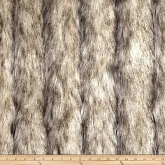 Amazon.com: Luxury Faux Fur Wild Coyote Stone Fabric By The Yard $42/yd