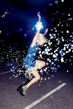 Urban Outfitters / photography by Charlie Engman. early fall 2011. #glitter #fashion #flash