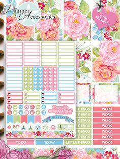 Sticker - 88 Stickers - Happy Planner Wochen Kit  Set04 - ein Designerstück von PlannerAccessories bei DaWanda