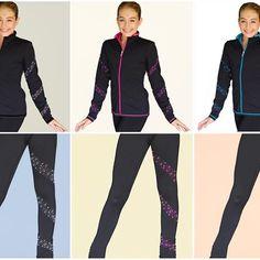 ChloeNoel Figure Skating Outfit -PS96 Pants and JS96 Crystal Spiral Jacket  https://figureskatingstore.com/chloenoel-figure-skating-outfit-ps96-pants-and-js96-crystal-spiral-jacket #figureskatingstore #figureskating #figureskater #iceskating #icedance #chloenoel #skating