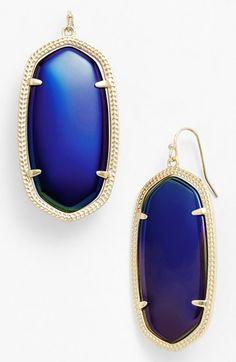 Kendra Scott 'Danielle' Oval Statement Earrings