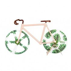 FIXIE PIZZA CUTTER TROPICAL VINTAGE - yuhustore - 1