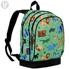 School is more fun with the Wild Animals Sidekick Backpack from Olive Kids. Its durable exterior holds up to almost anything while a roomy interior has utility pockets and pencil holder to keep things organized. Green Animals, Animals For Kids, Wild Animals, Baby Animals, Animal Backpacks, Boys Backpacks, Small Backpack, Travel Backpack, Toys For Little Kids