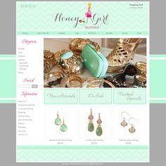 SC Sugar Boutique - Clothing & Accessories - Boutique Web Design ...