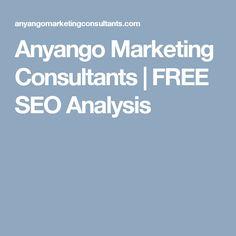 Anyango Marketing Consultants | FREE SEO Analysis