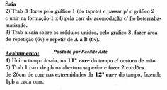 Capa para bujão, Linha Camila Fashion, agulha 1,75mm.         Gráficos